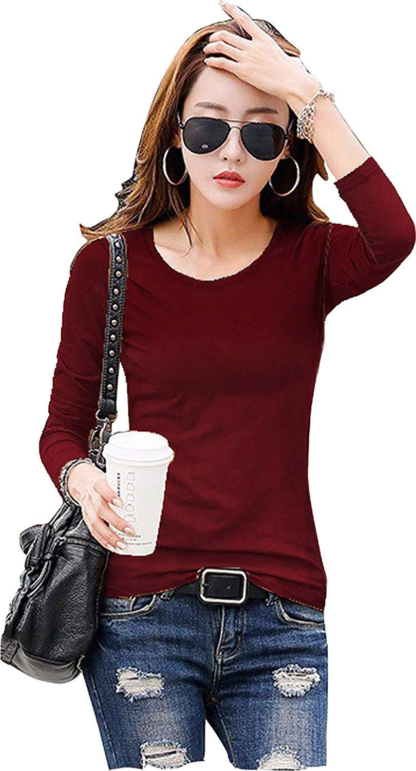 06c1ff7d3  Business Hub Knitting Full Sleeves Girls Tipsy T-Shirts  Amazon.in   Clothing   Accessories