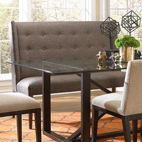 Upholstered Bench With Back And Nice Room Upholstered Dining