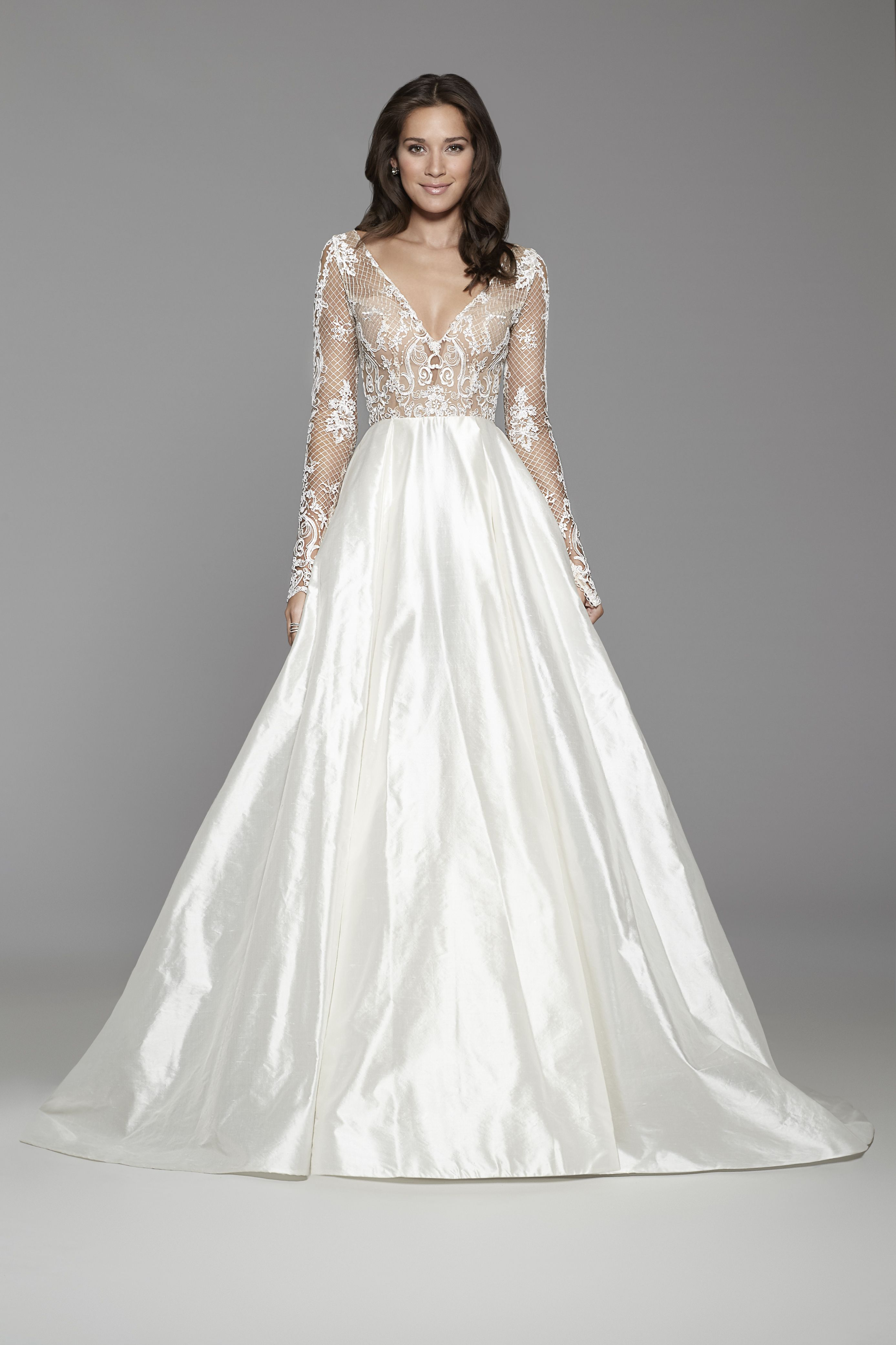 Tara Keely Bridal Style 2759 Ivory Silk Shantung Ball Gown