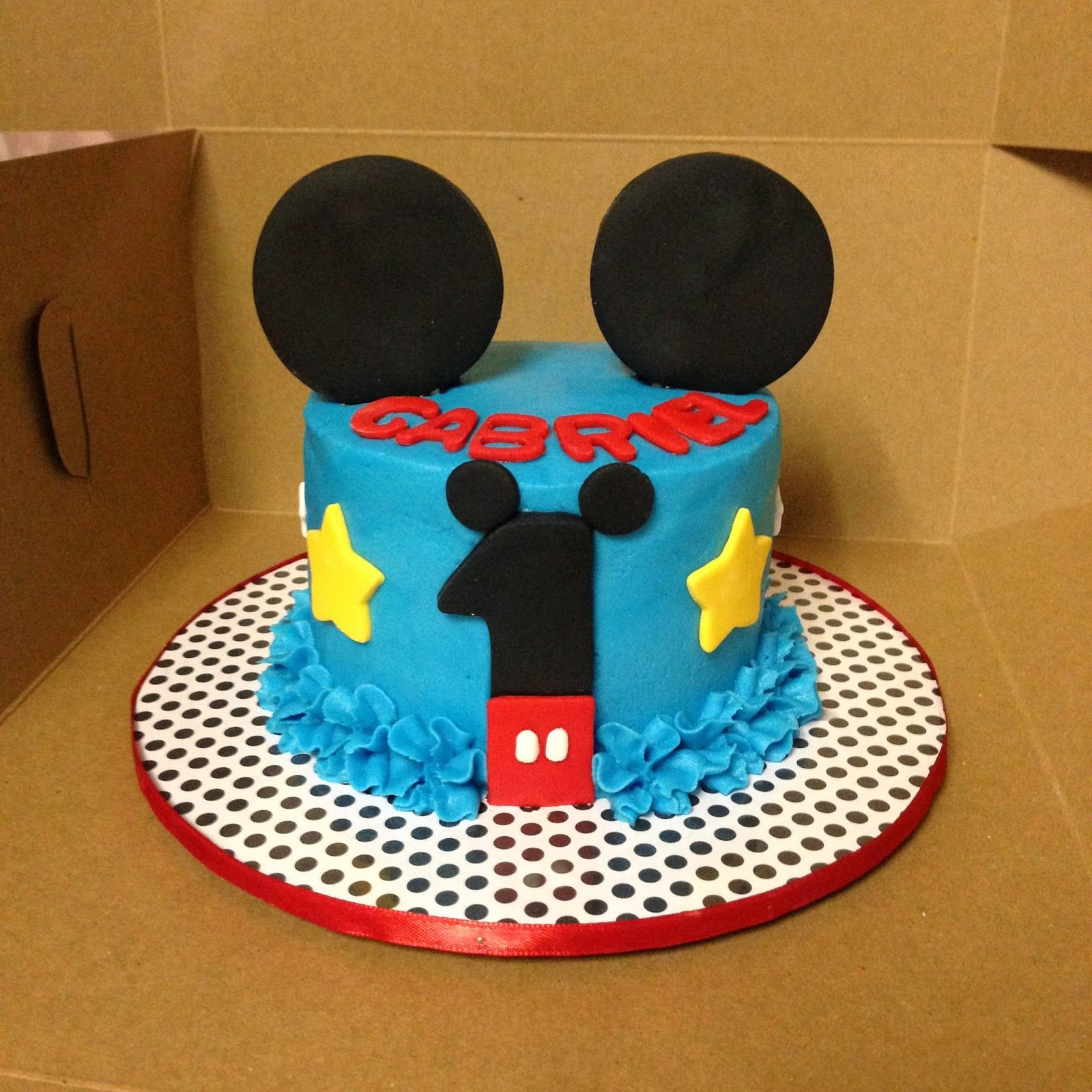 Cakes By Mindy Mickey Mouse Smash Cake 4