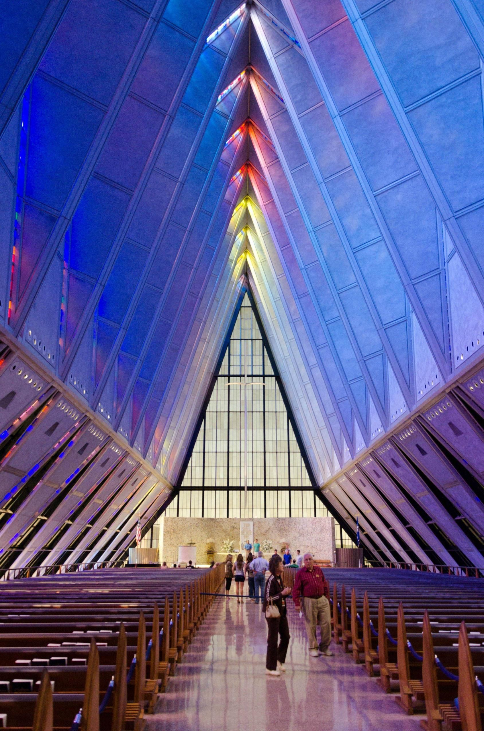 United States Air Force Academy Chapel (With images