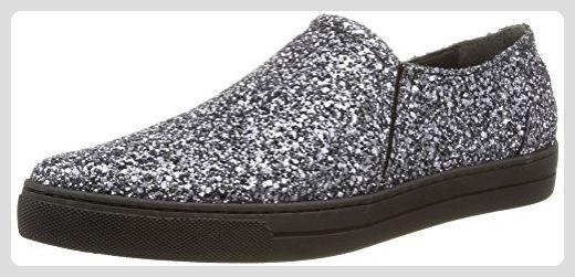 Eleven Paris Sharp Glitter, Damen Sneakers, Silber (Silver), 38 EU