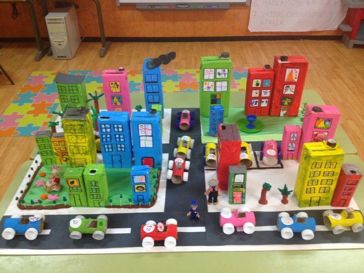Resultado de imagen de como hacer una maqueta de ciudad for Proyecto restaurante escolar