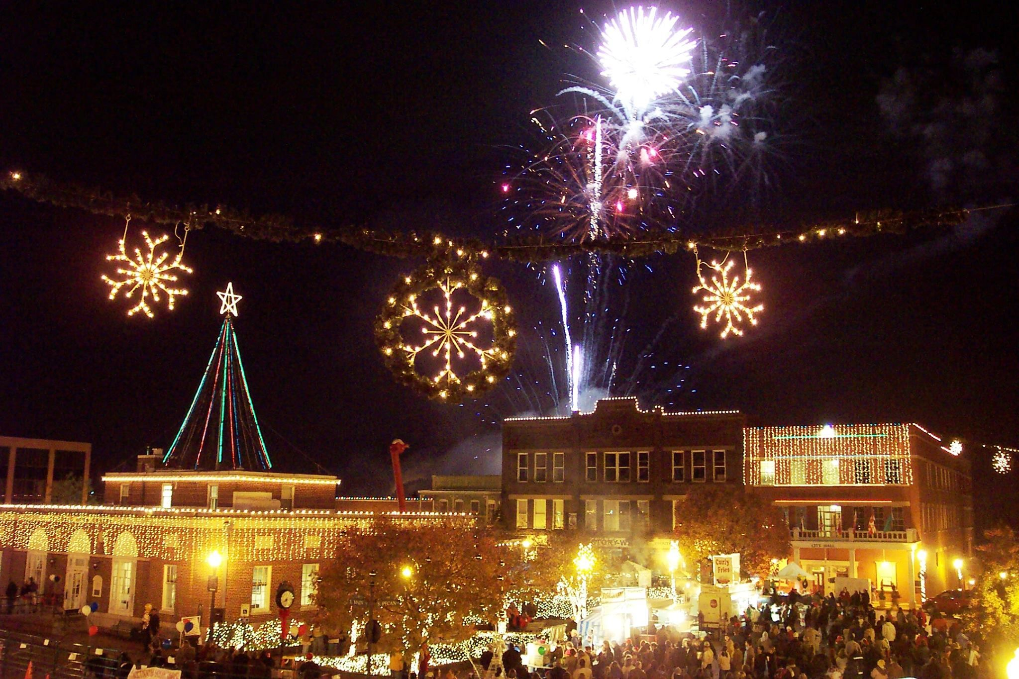Nine Flags Christmas Festival, Nacogdoches, Texas | Nacogdoches ...