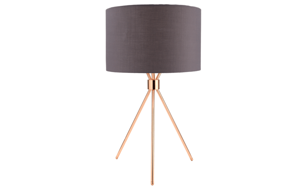 By Sainsbury S Copper Finish Tripod Table Lamp Tripod Table Lamp Lamp Copper Finish