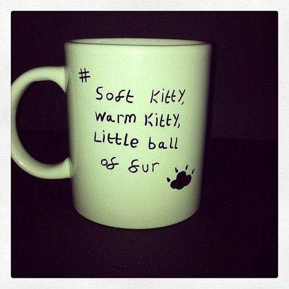 The Big Bang Theory tribute mug by HouseOfSharkey on Etsy, $7.00