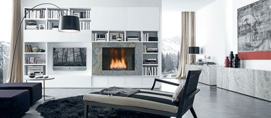 11 Best Ideas About Fireplace On Pinterest | Modern Living Room