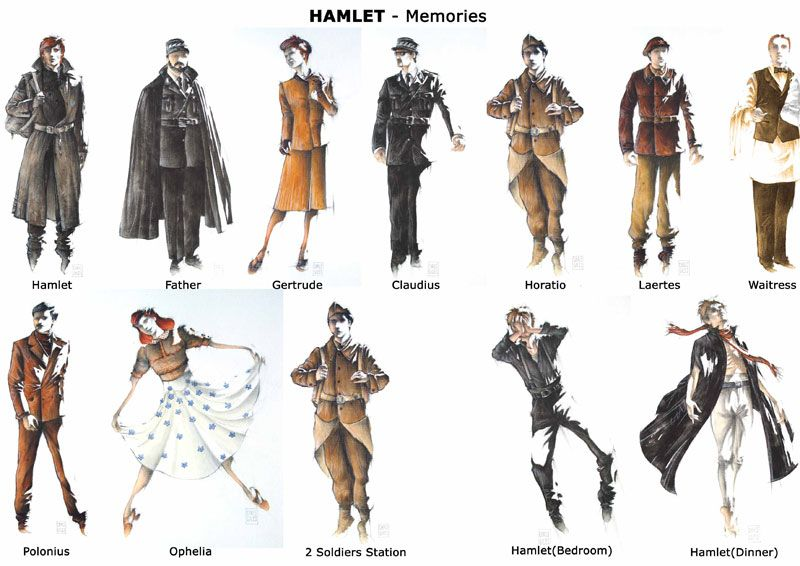 hamlet character sketch The character of gertrude in shakespeare's 'hamlet' is a very complex  a much  more important character in the play, perhaps assisting claudius in  the  character of hamlet ophelia character sketch feminism ophelia.