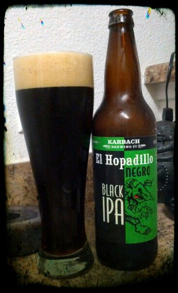 Karbach Brewing Co. - El Hopadillo Negro : Black IPA
