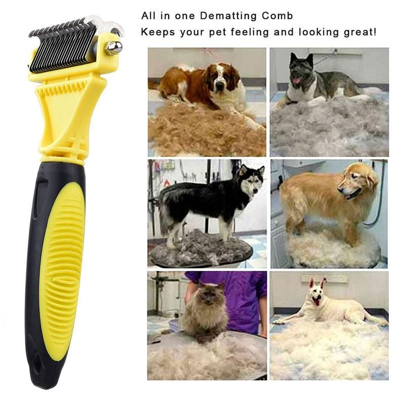 Fur Brush For Cats and Dogs Pet grooming, Dog