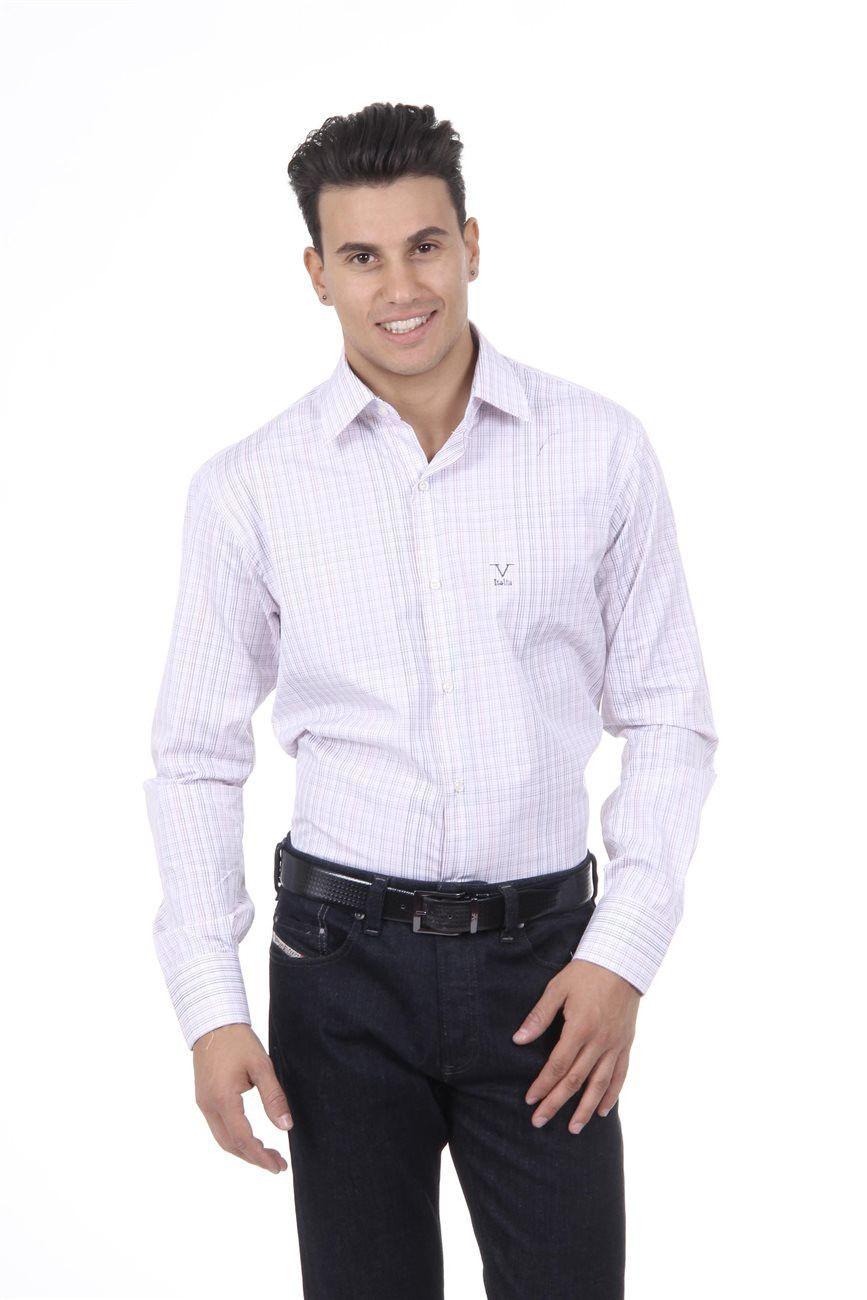 Versace 19.69 Abbigliamento Sportivo Srl Milano Italia Fit Modern Classic Shirt 377 VAR. 211
