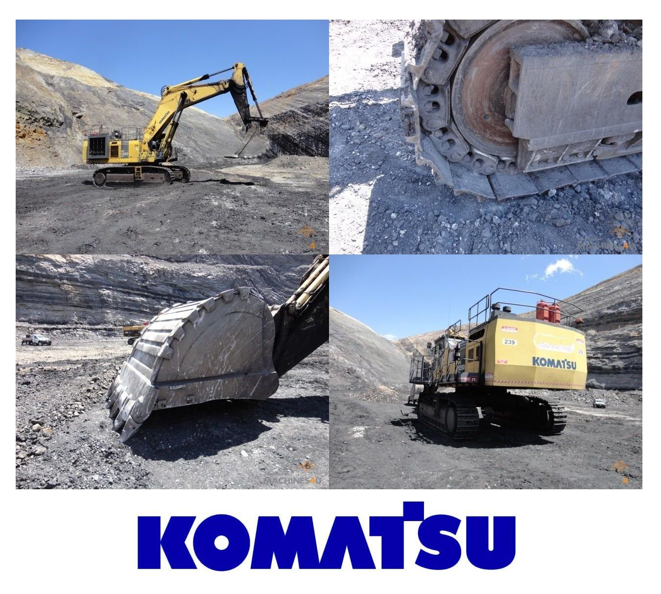 Are you familiar with #Komatsu #Excavators? This is the 2006 PC1250 SP-