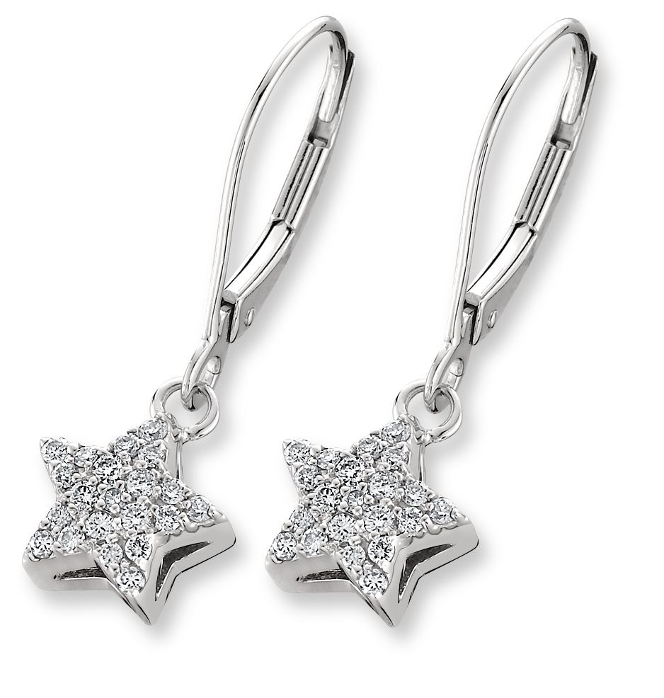 16 Examples Of Beautiful Diamond Jewelry Designs | Star earrings ...