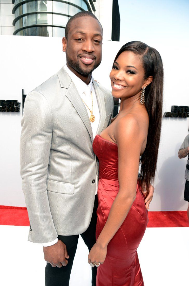 Pin for Later: All of Gabrielle Union and Dwyane Wade's Slam-Dunk Relationship Snaps  Dwyane and Gabrielle were the picture of perfection at the BET Awards in June 2013.