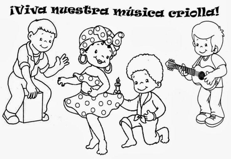Octubre - Cancion criolla 02 | Fechas Civicas | Pinterest ...