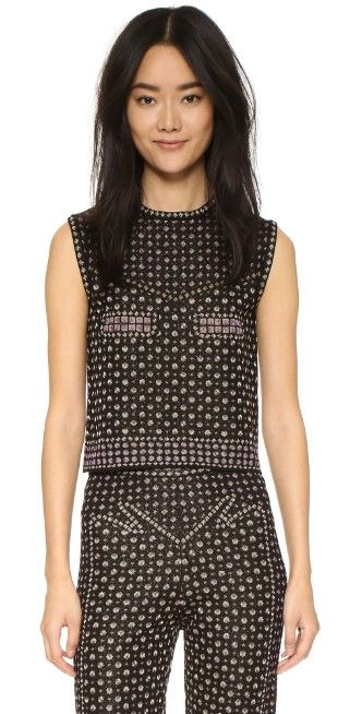 M Missoni Rivet Jacquard Top | SHOPBOP