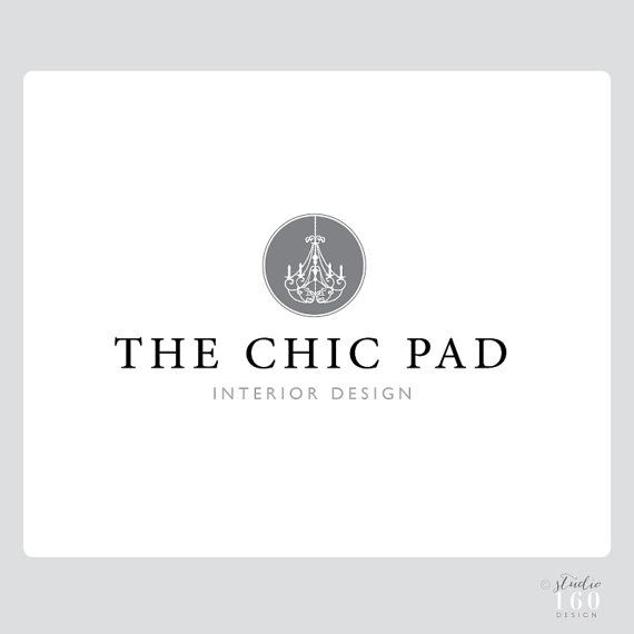 custom interior design logo business logo custom logo package - Interior Design Logo Ideas