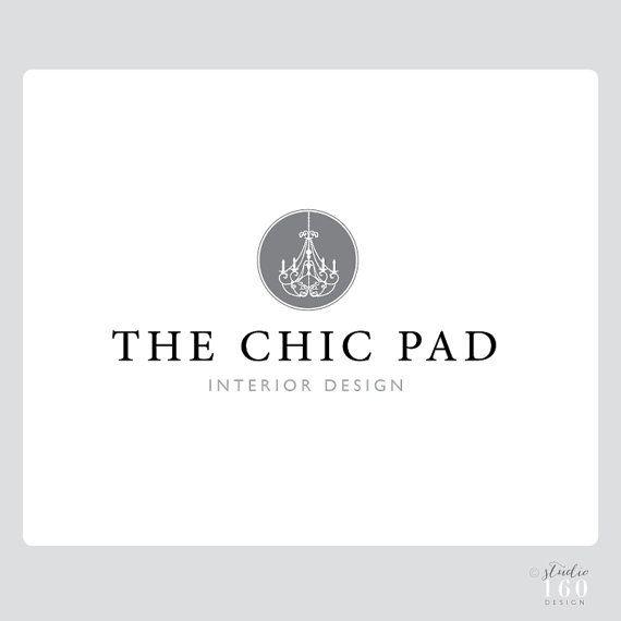 custom interior design logo business logo custom logo package - Interior Design Logo Ideas