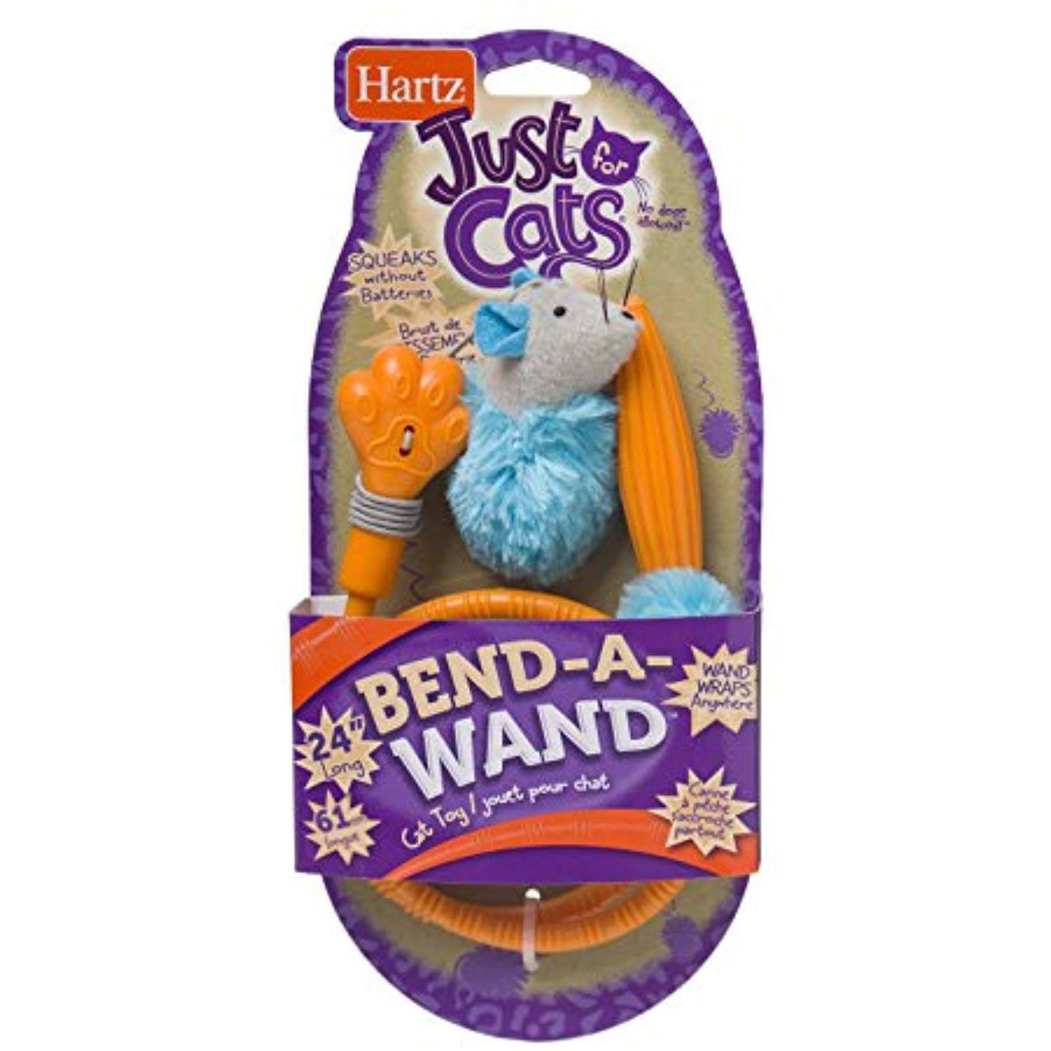 Hartz Just For Cats Bend A Wand Cat Toy For More Information