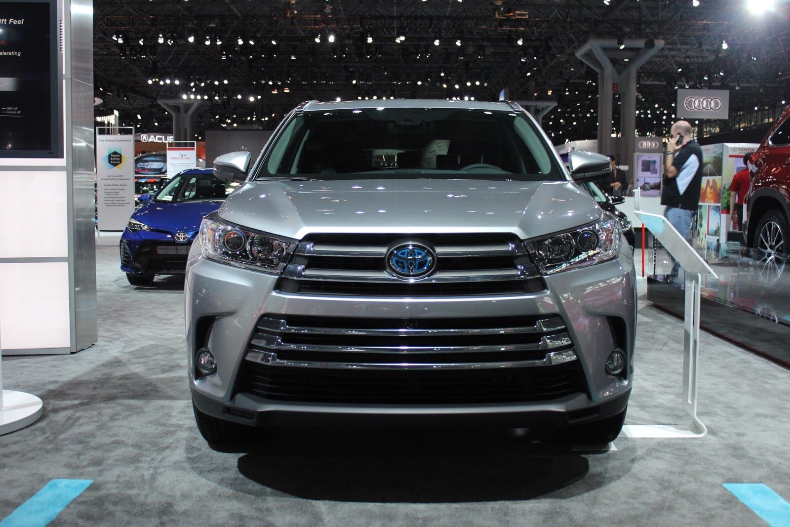 2018 toyota highlander. exellent toyota 2018 toyota highlander highlander changes  colors inside