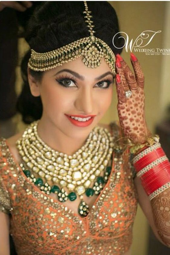 bridal matha patti designs