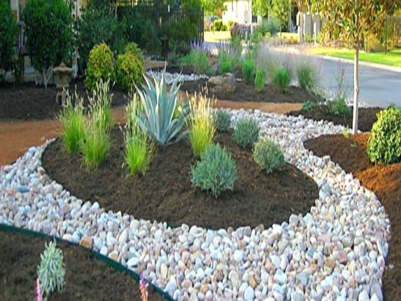 Different Landscape Rock Types Types Of Decorative Landscaping Cheap Landscaping Ideas Landscaping With Rocks River Rock Landscaping
