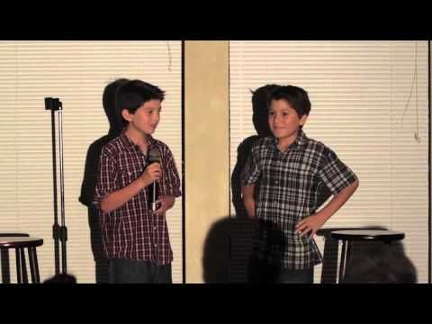 8 & 9 year old Standup Comedians - Frances Dilorinzo
