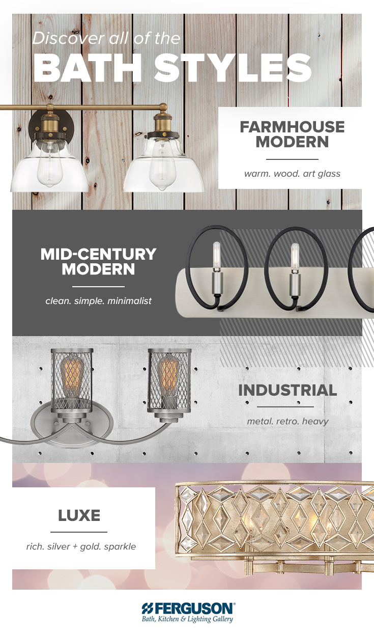Find luxe, mid-century modern, farmhouse, and industrial lighting at