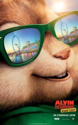New Posters For Alvin And The Chipmunks The Road Chip Ardillas