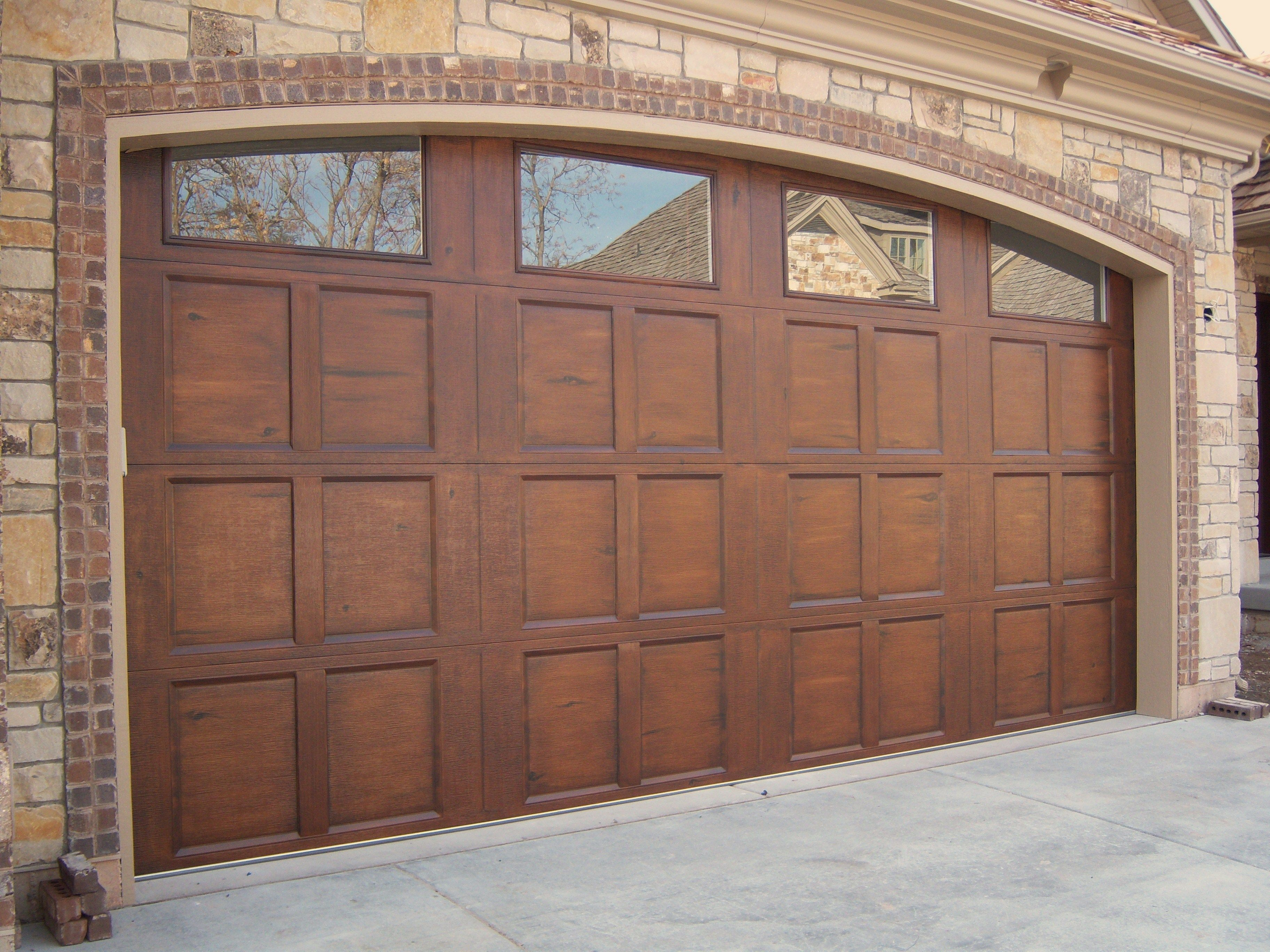 25 faux wood garage doors prices decor23 for 15 x 7 garage door price