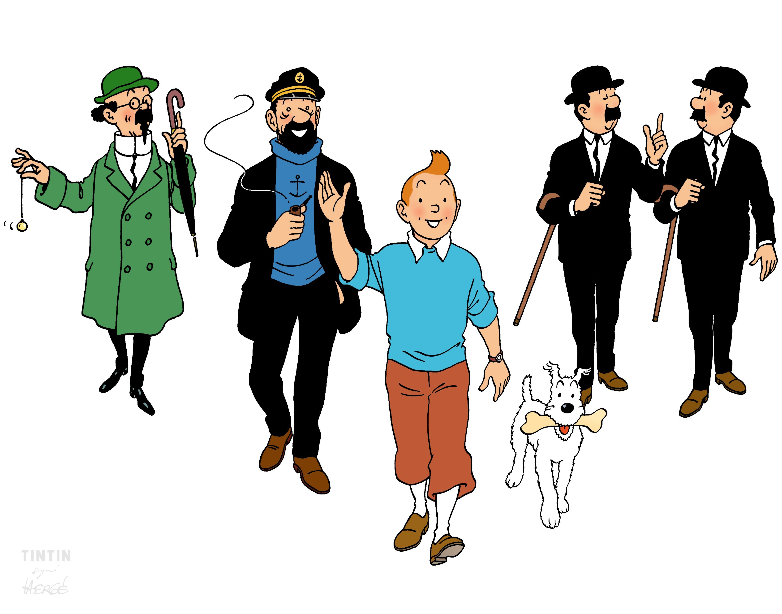 1967 ❘ tintin et ses amis à montréal — tintin and his friends in
