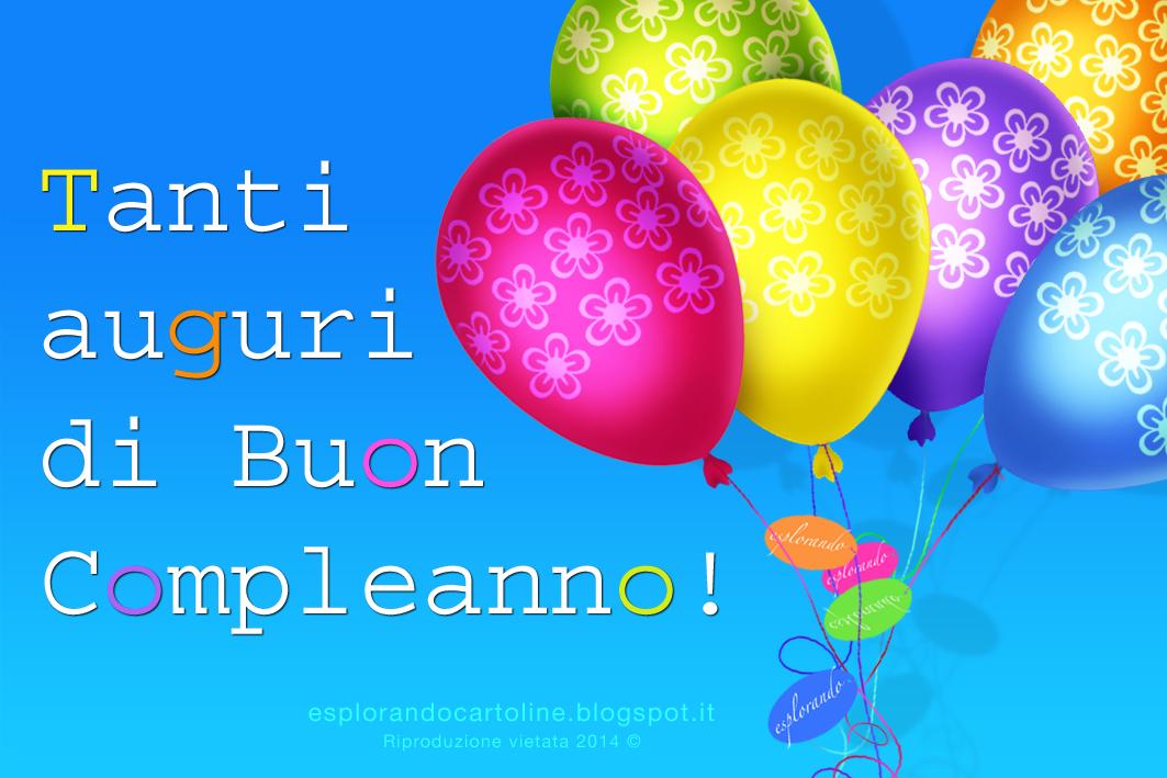 Cartolina Con Palloncini Colorati Per Fare Gli Auguri Di Buon Compleanno Da Scaricare Gratis Buon Compleanno Auguri Di Buon Compleanno Compleanno Snoopy