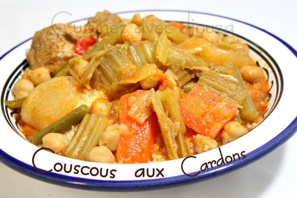 Couscous Aux Cardons Seksou N Taga Recettes Pinterest