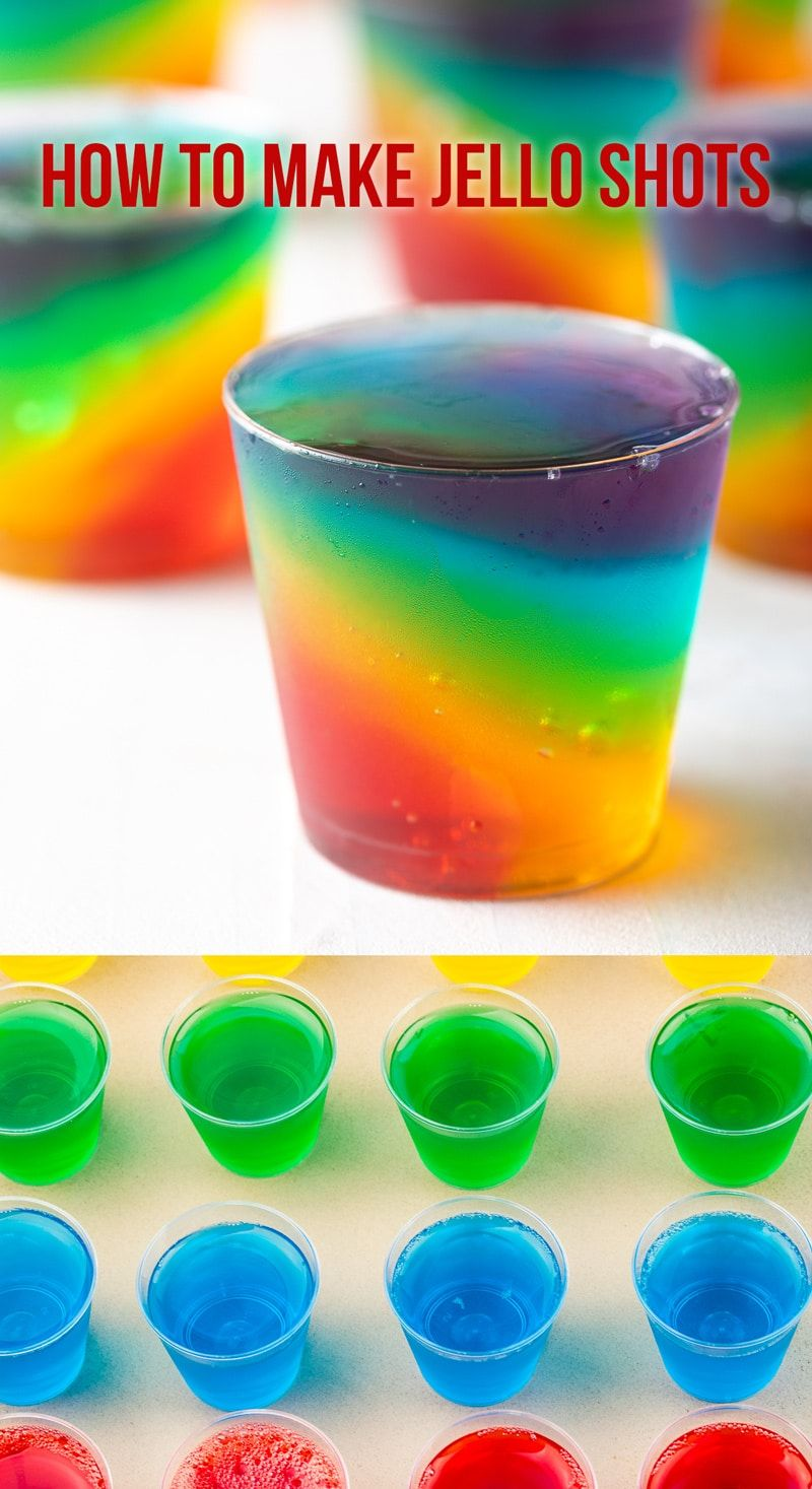 How To Make Jello Shots Recipe (VIDEO) - A Spicy Perspective