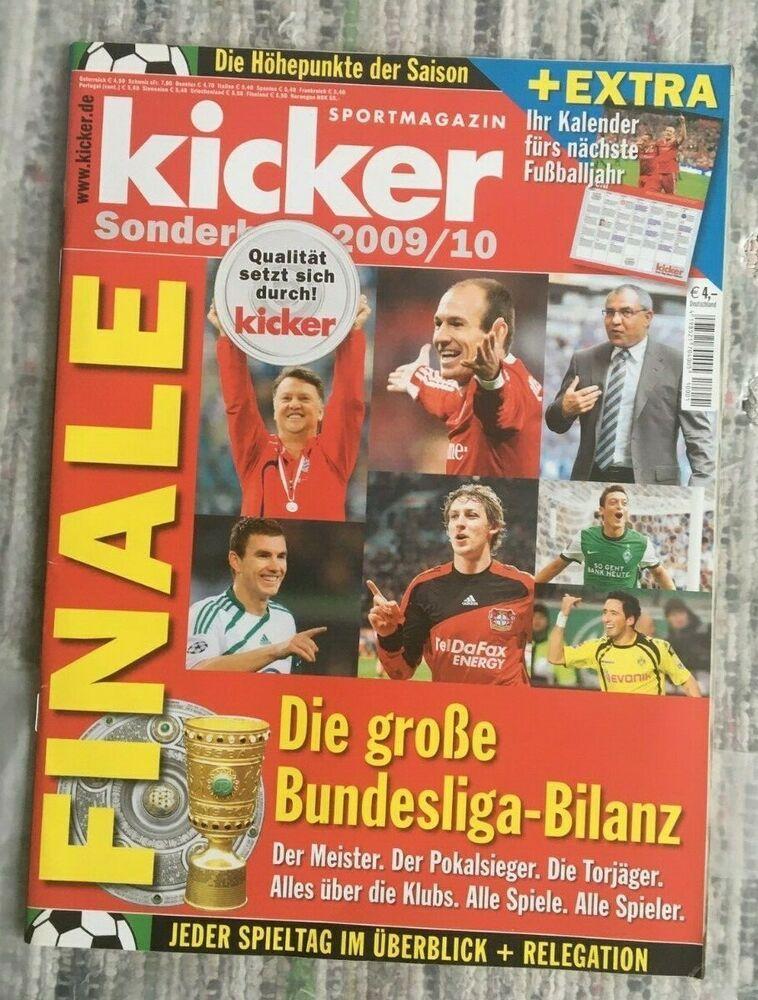 """Details zu kicker!Sonderheft! ! FINALE """" Die große"""