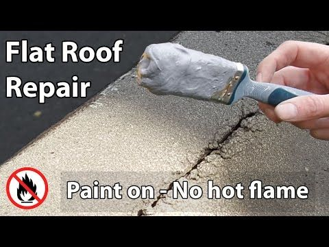 Best Flat Roof Leak Repair Paint On Liquid Waterproof Sealant 640 x 480