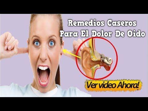 Como quitar el dolor de oido remedio casero