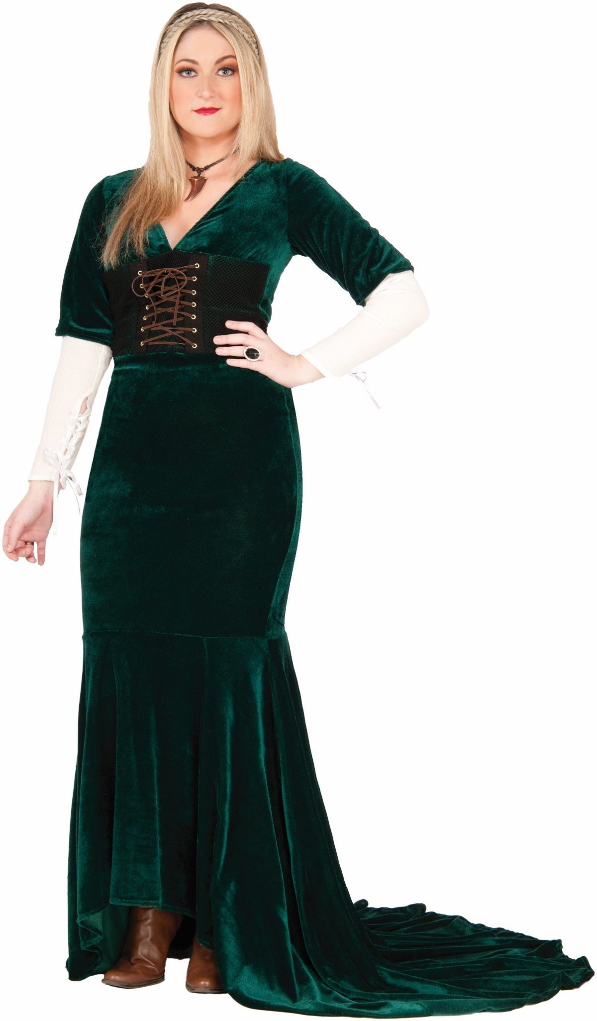 Plus Size Revealing Renaissance Women Medieval Queen Costume FN73622 Halloween Costumes Plus Size Revealing Renaissance Women Medieval Queen Costume ...  sc 1 st  Pinterest : medieval queen costume plus size  - Germanpascual.Com
