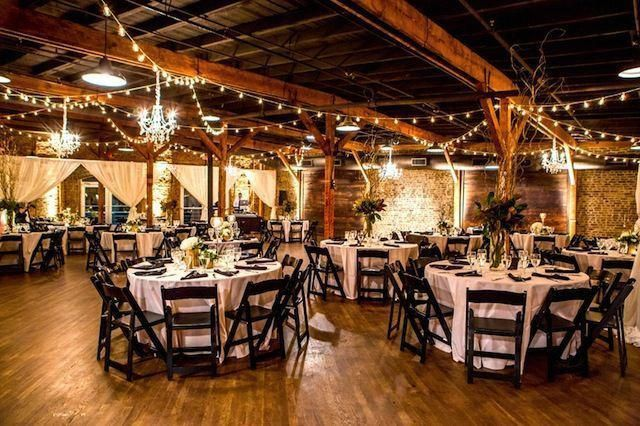 Fabulous setup at this #yellow #uplighting #wedding #reception! #diy #diywedding #weddingideas #weddinginspiration #ideas #inspiration #rentmywedding #celebration #weddingreception #party #weddingplanner #event #planning #dreamwedding by @ashleysbride #weddinglocationsbarn
