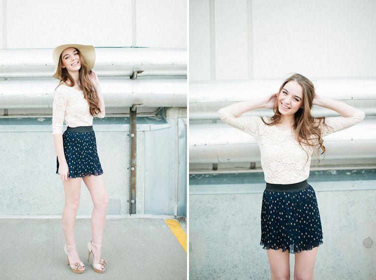 #fashion #girl #senior #style
