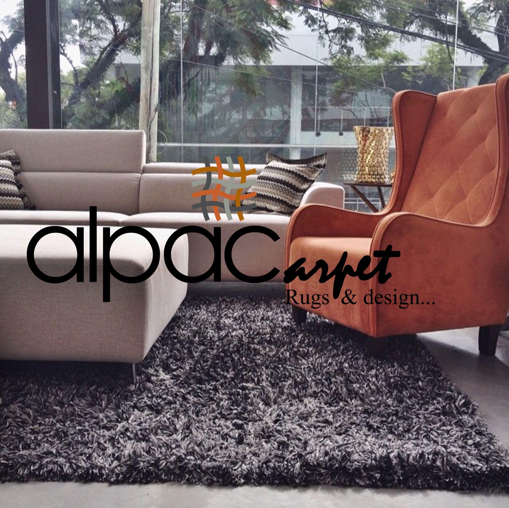 Alfombra shaggy o pelo largo ideal para living en color negro alfombras de dise o rugs - Alfombras shaggy pelo largo ...