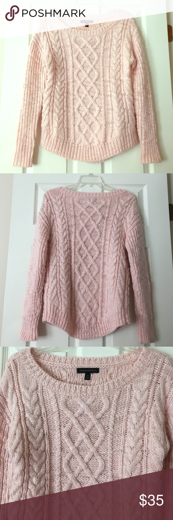 Banana Republic Pink Sweater | Banana republic, Conditioning and Drop