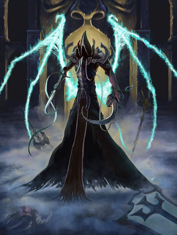 Diablo 3 Reaper Of Souls Fanart Contest By Davidsu330 Diablo Art Diablo Scary Art