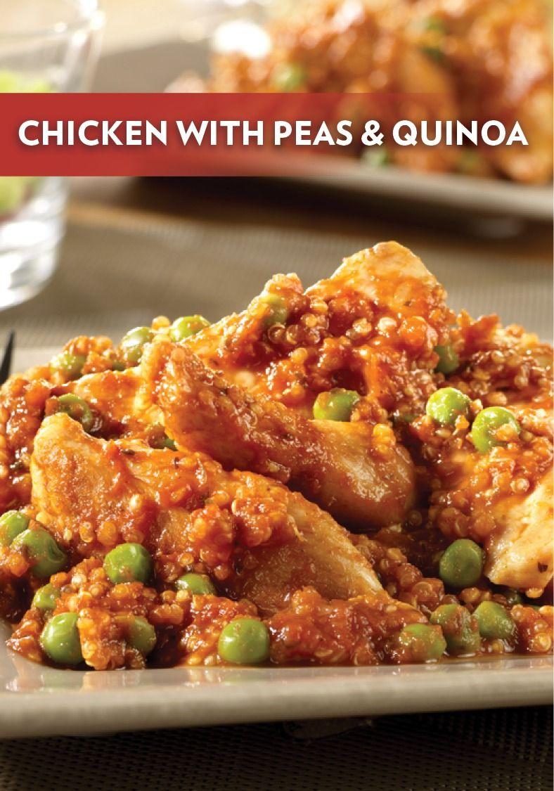 Chicken with peas quinoa entree recipes recipes