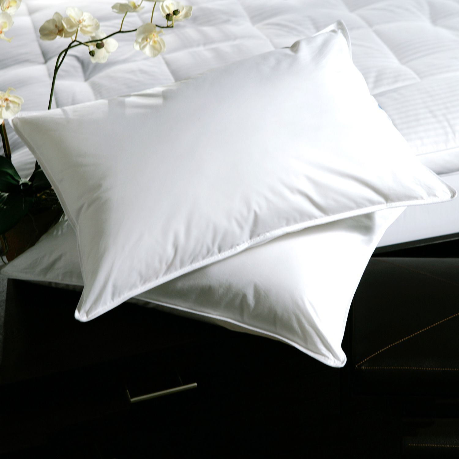 Sleep In Comfort With These Soft Goose Feather Pillows