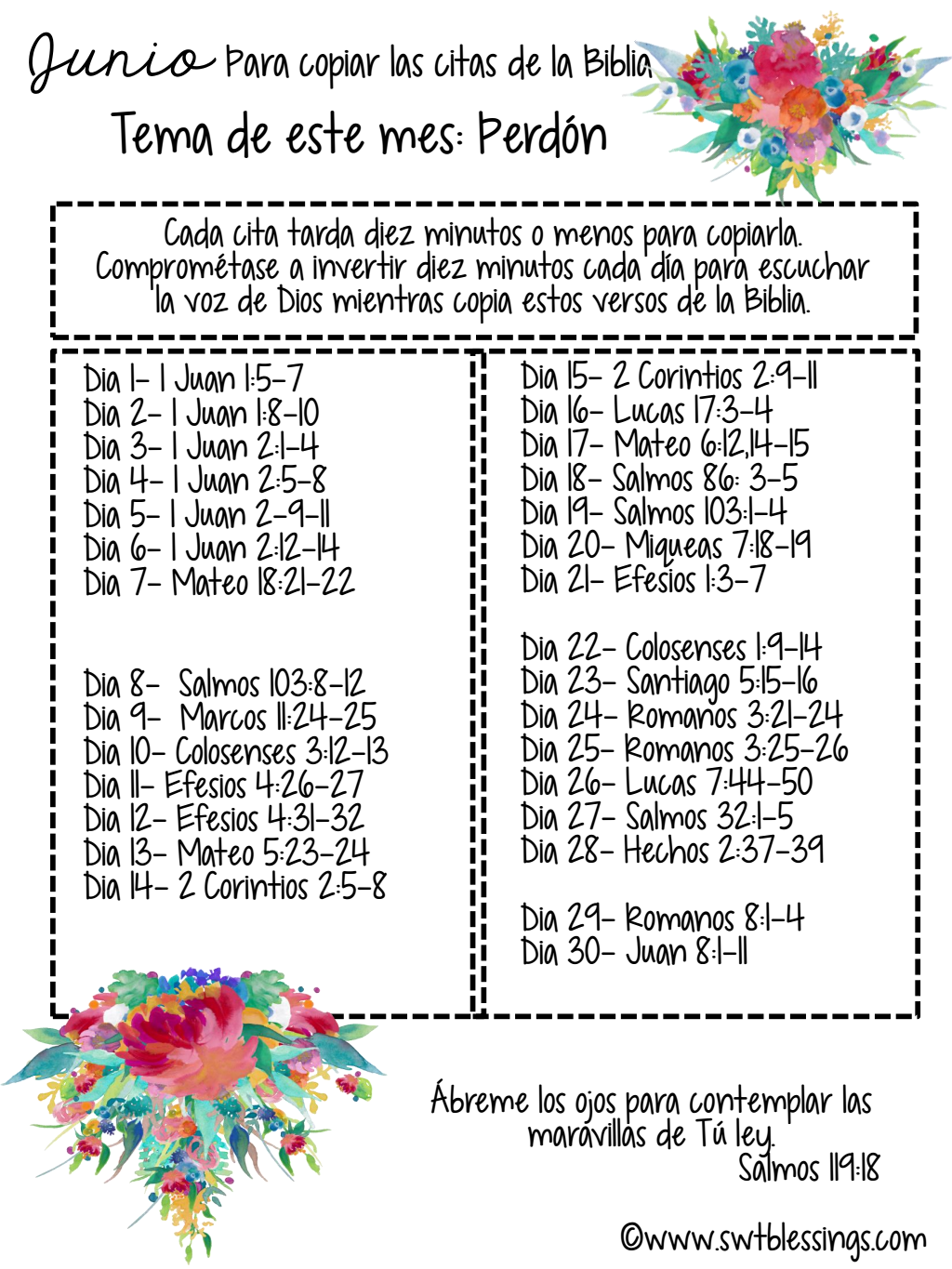 Page 1 Of 1 Scripture Writing Plans Read Bible Bible Plan