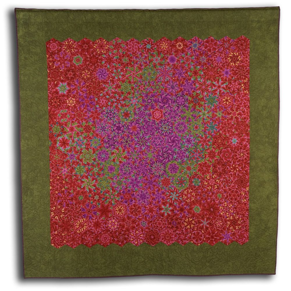 Bloom Bruce Seeds Quilted Textile Mosaics