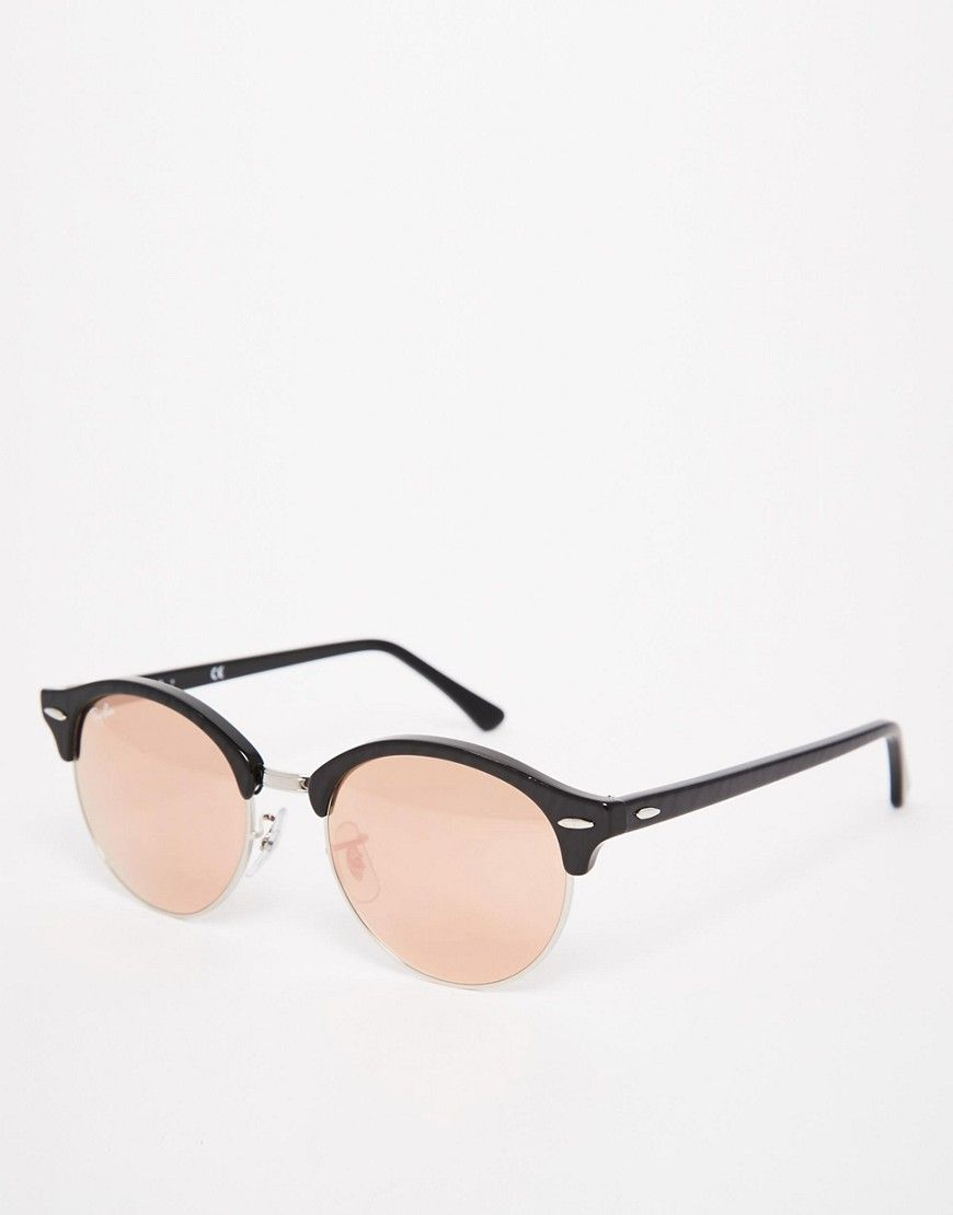 ray ban clubmaster effet miroir