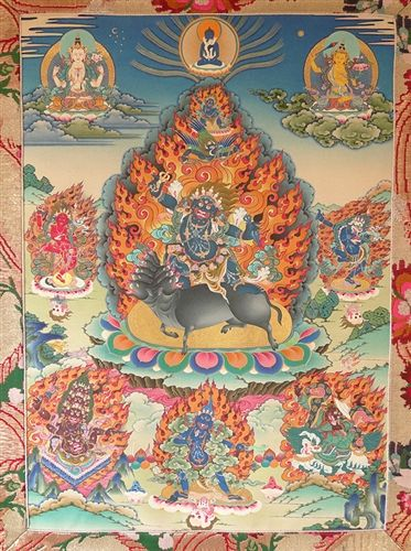 dorje Gotrab (will sow diseases like seizures and leprosy)