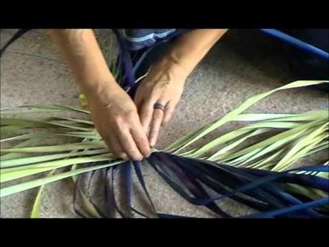 Pikau Tutorial Youtube Flax Weaving Flax Flowers Flax